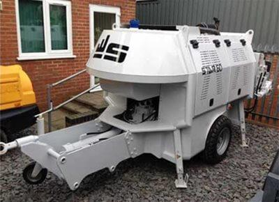 Trailer Mounted Concrete Pump Hire