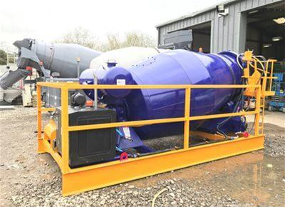Concrete Remixer Agitators